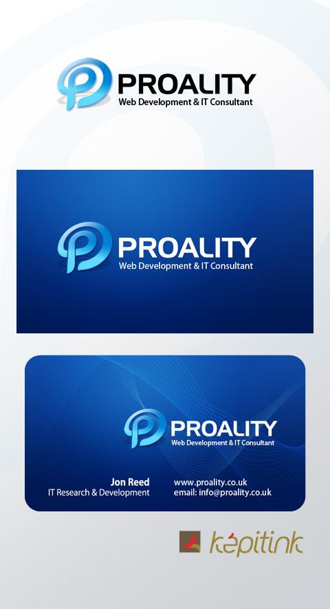 Proality Logo + Business Card